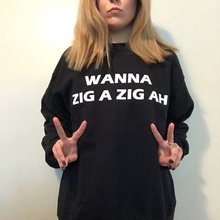 Sugarbaby Spice Girls Sweatshirt 90s Clothing Grunge Clothing 90s Grunge Tumblr Casual Tops Long Sleeve Fashion Aesthetic Jumper