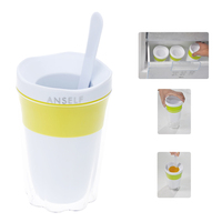 Smooth Surface Fruit Juice Smoothie Cup Diy Cool Smoothie Milkshake Ice Cream Cup Kitchen Tool For Easier Cleaning