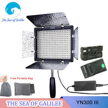 Free Gifts Yongnuo YN300 III YN-300 lIl CRI95+ Pro LED Video Light with Remote Control for Canon Nikon Sony Camcorder