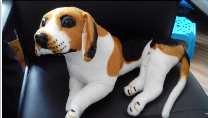 lovely plush beagle dog  toys cute lying beagle dog doll birthday gift about 45cm 0178 cute labrador big plush toy lying dog doll search and rescue stuffed toys children birthday gift pillow
