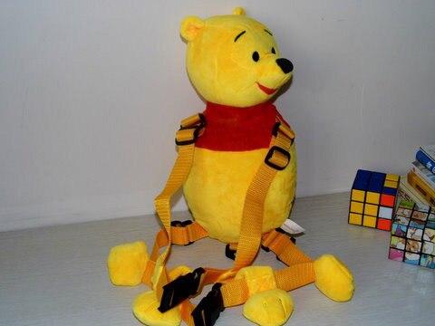 Желтый Whinne Жгут приятель голдбаг 2-в-1 Рюкзак Шлейка с сафти rein Kid Keeper Детские Поводки Carrier