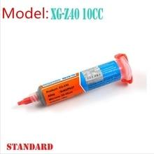 Новый 1 шт. 100% Гонконг МЕХАНИКА XG-40 BGA Припоя Вставить Пайки Олово Крем Sn63/Pb37 25-45um XG-Z40 10CC(China (Mainland))