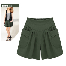 Casual Plus Size Women Shorts