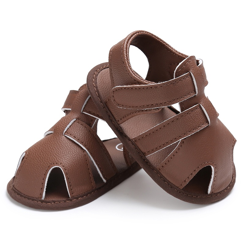 Infant-Summer-Baby-Boys-Shoes-Newborn-First-Walkers-PU-Leather-Soft-Soled-Beach-Crib-Bebe-Shoes-1