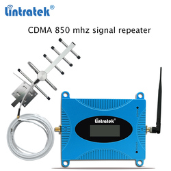 Lintratek Celular Signaal Booster 850 Mhz Mini 2G/3G Repeater Kit Band 5 Repetidor Cdma Mobiele Telefoon signaal Amplificador 850 Mhz S45