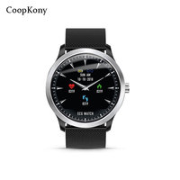 Coopkony ECG Smart Watch Fitness Tracker Electrocardiograph ECG Display Heart Rate Monitor Blood Pressure Sport Smartwatch