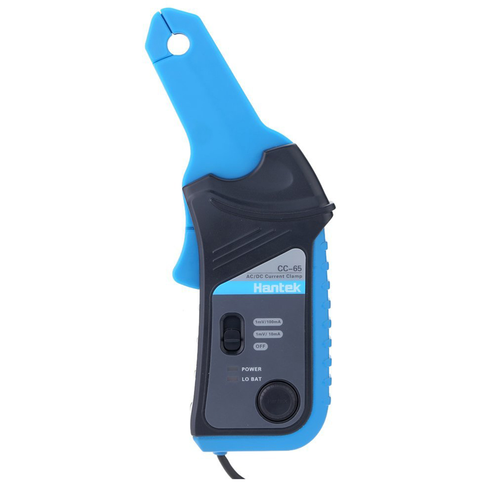 Hantek CC-65 AC/DC Current Clamp Meter 20KHz Bandwidth 20mA to 65A DC with BNC Connector ac dc current clamp cc 65 ac dc 0 400hz measurable current range 20ma to 65a cc65