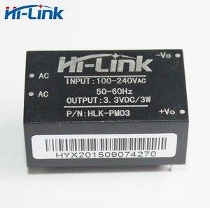 Image 3 - Free shipping 5 pcs AC DC 220V to 3.3V 3W mini power supply module intelligent household switch module power module HLK PM03