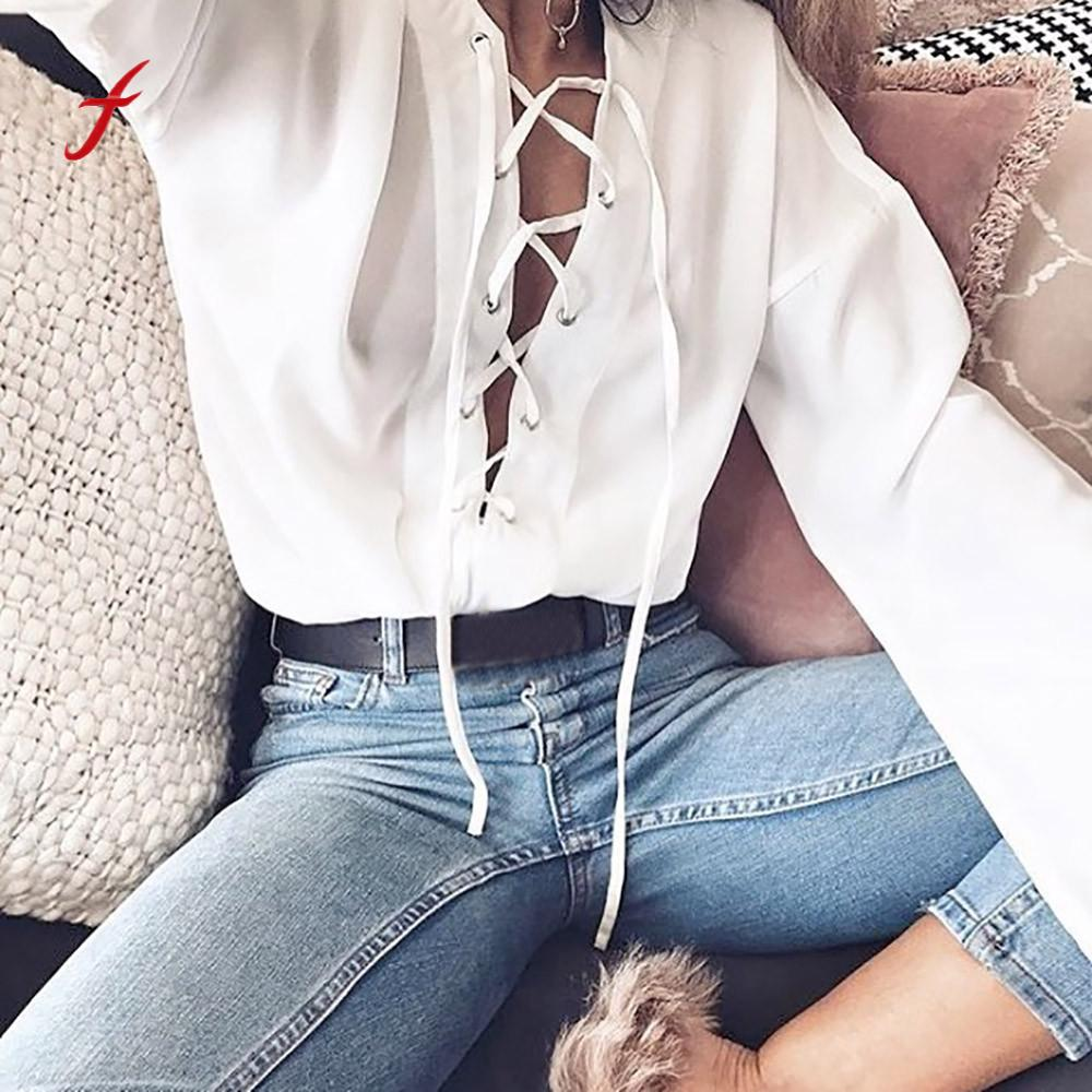 Women's Clothing Sexy Women Bandage Floral Lace Slim Bustier Solid Blouse Shirt Women Club Party Top Shirt Vest Hot Clothes