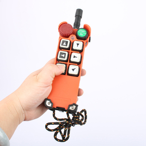 Image 5 - 2 transmitter 1 Receiver F21 E1 emergency stop mushroom head crane driving hoist industrial wireless remote control 24V 36V 220V