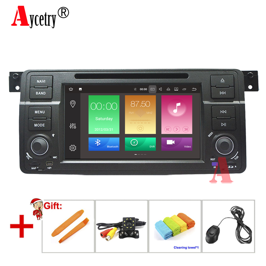 Octa 8 core Car DVD Multimedia player GPS Autoradio Stereo audio For BMW/E46/M3/Rover/3 Series car radio WIFI FM Steering wheel