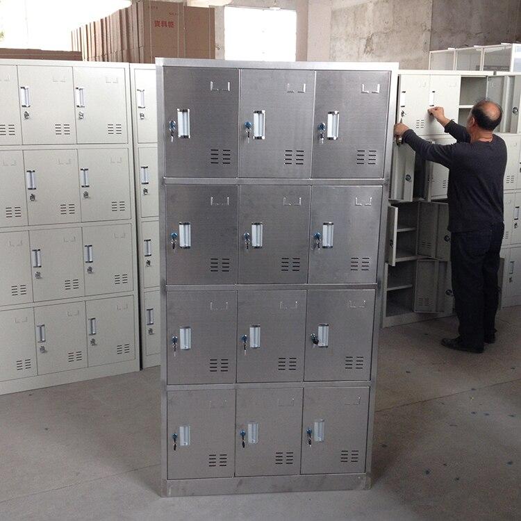 Stainless Steel Lockers Tool Cabinet Medicine Factory