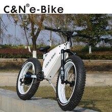 2018 Hot selling 48v 1500W Snow fat E-bike Electric Mountain Bike/Electric Bike/Electric bicycle