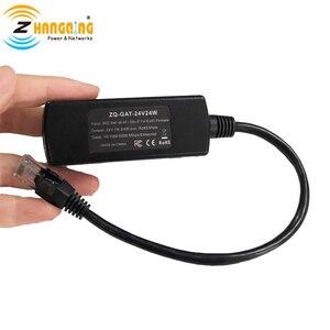 Image 4 - 48 V כדי 24 V PoE ממיר 24 V 24 W עבור MikroTik 24 V Routerboard מכשיר PoE 48 V כדי 24 V מפני 802.3af
