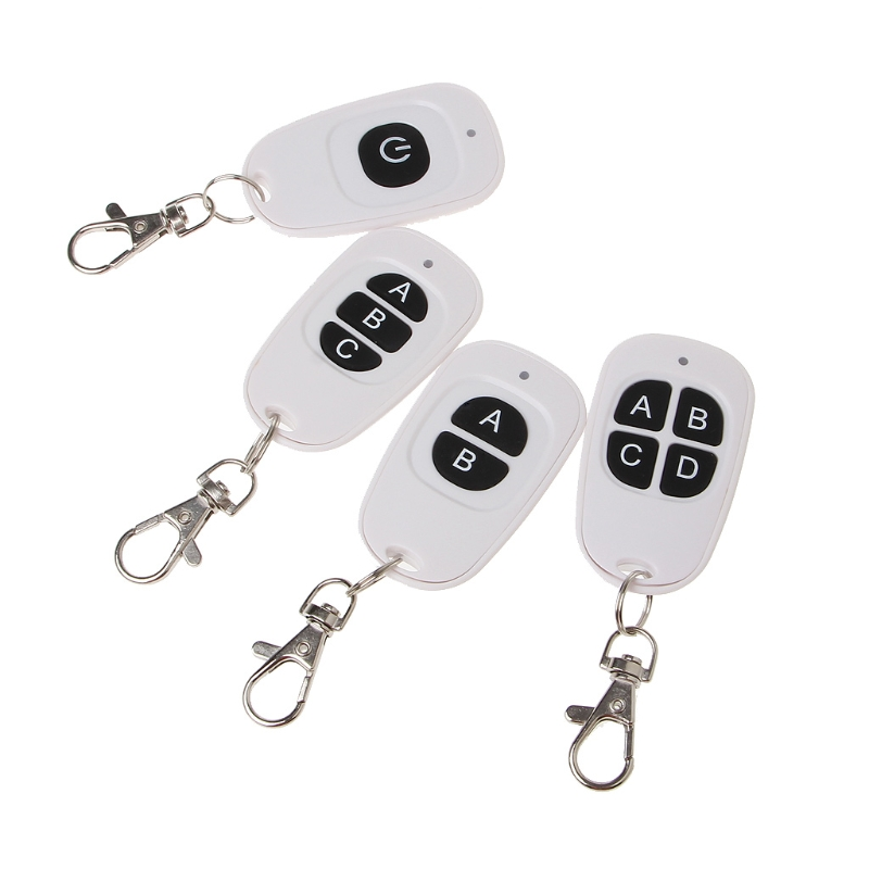 <font><b>1CH</b></font> 2CH 3CH 4CH <font><b>RF</b></font> Wireless Remote Control 1-4 Button Transmitter <font><b>433</b></font> MHz EV1527 High Quality Remote Control Transmitter image