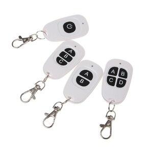 Image 2 - 1CH 2CH 3CH 4CH Rf Draadloze Afstandsbediening 1 4 Button Zender 433 Mhz EV1527 Hoge Kwaliteit Afstandsbediening zender