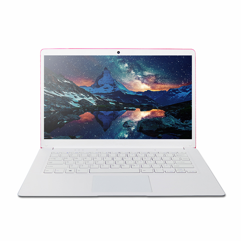 Cheap 14 Inch Ultbook with Intel Quad Core J3455 up to 2.3GHz 6EMMC 160G/320G/500G/1TB HDD windows10 laptop computer 4700MAH image