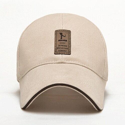 Mens Summer Polo Baseball Cap Golf Caps Cotton Casual Adjustable Sports Hat