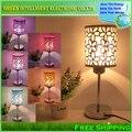 Современная Мода Настольная Лампа Прикроватная Лампа, Светильник Спальня, Бесплатная доставка и дать СВЕТОДИОДНАЯ Лампа в качестве подарка!