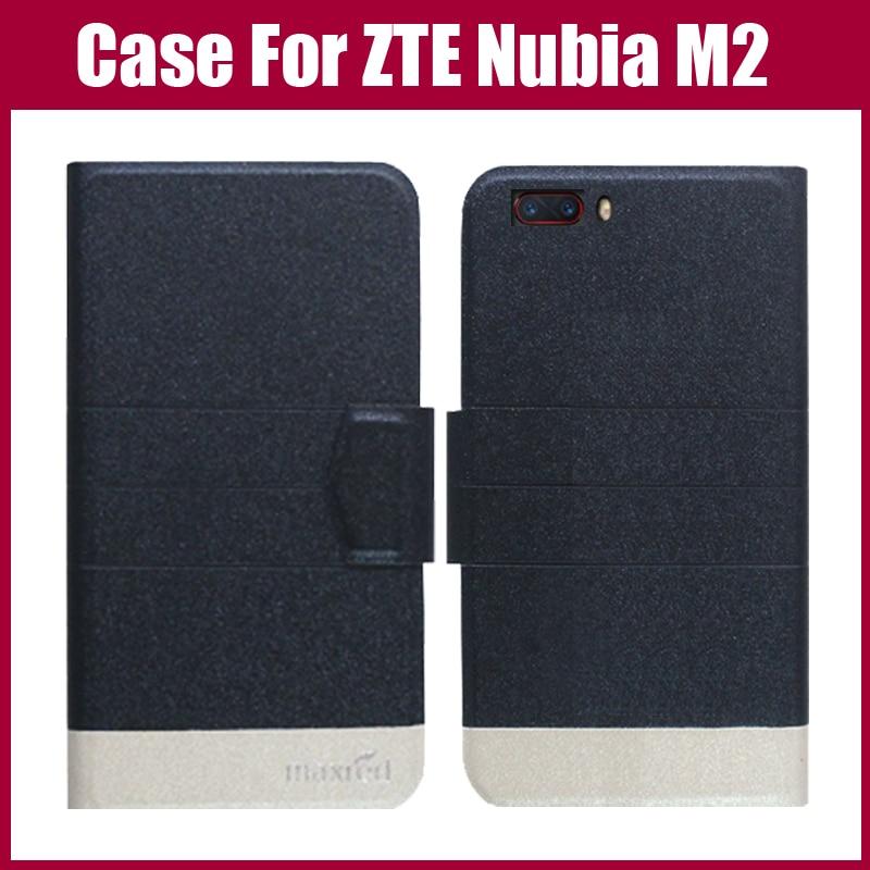 Лидер продаж! ZTE Нубия M2, Новое поступление 5 цветов Высокое качество кожа эксклюзивный чехол для ZTE Нубия m2 крышка бумажник Стиль