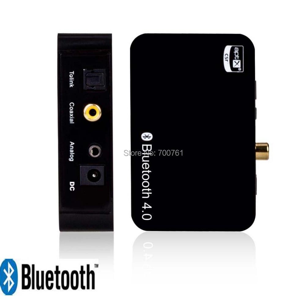 ФОТО Hifi stereo Bluetooth Music Receiver Aptx Wireless Bluetooth 4.0 Audio Receiver Digital Optical Coaxial  Analog 3.5mm Output