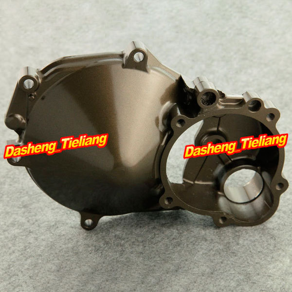Left Crankcase Cover Fit for Kawasaki ZX10R 04 05 NINJA / 2004 2005 ZX-10R, Aluminum Stator Engine Crank Case