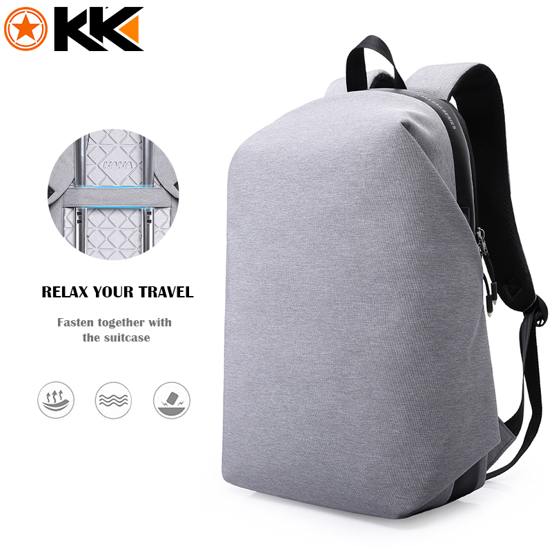 KAKA 15.6 Inches Laptop Backpack Men Women Mochila Waterproof Notebook Computer School Bags for Teenager Fashion Black Backpacks sosw fashion anime theme death note cosplay notebook new school large writing journal 20 5cm 14 5cm
