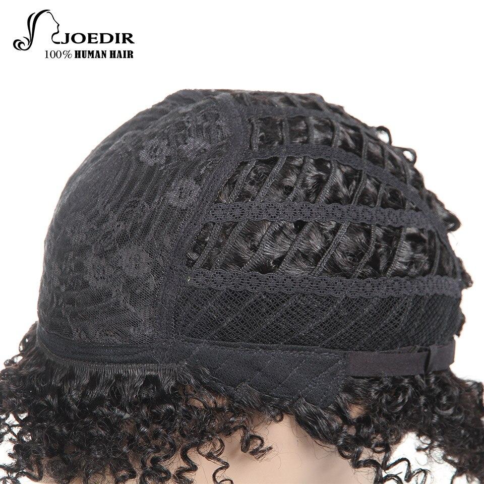Joedir Parycken Pixie Curly Hair Mänskliga Hårperor Brazilian Remy% - Skönhet och hälsa - Foto 5
