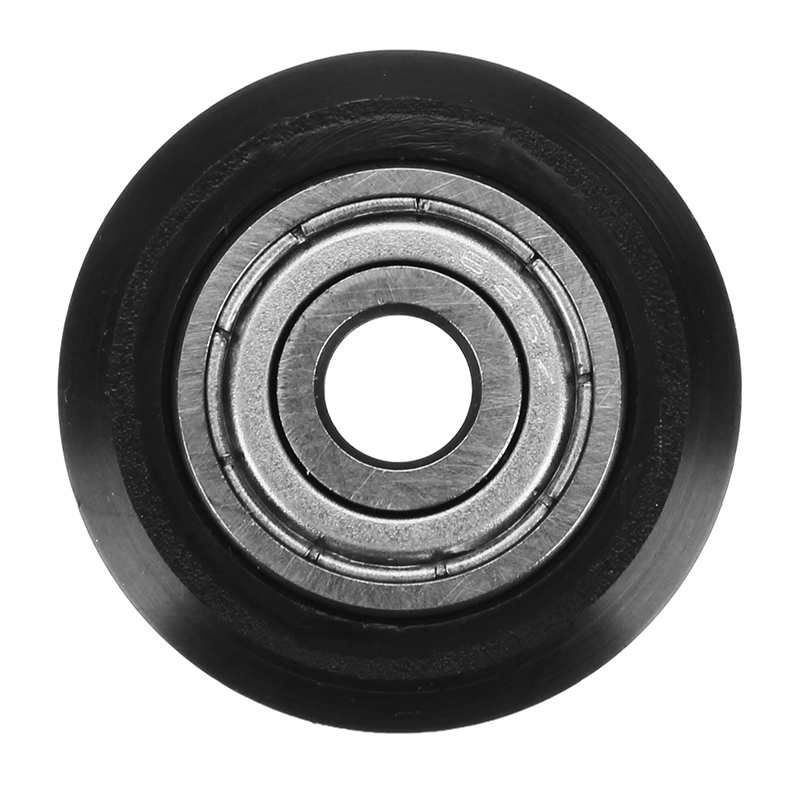 EleksMaker 1pc 5mm POM Black Idler D-Type Wheel Wheels CNC Engraving Millling Machine Accessories