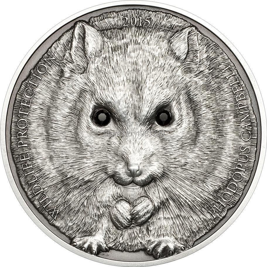 Sample coin! 500 Togrog Mongolia Coins 2012 LONG EARED HEDGEHOG ... 353e0fb900b7