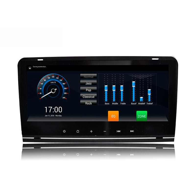 Lenvio RAM 2 ギガバイト + 32 ギガバイトオクタコアの Android 7.1 車の Dvd Gps ナビゲーションプレーヤーアウディ A3 S3 2003 2004 2005 2006-2011 ラジオ、 Dab BT IPS