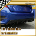 Car-styling For Honda 10th Generation Civic FC CM-Style Carbon Fiber Rear Diffuser