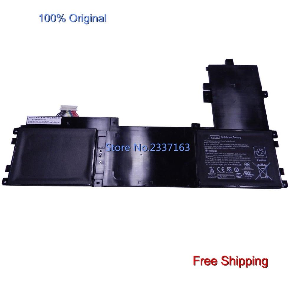 IECWANX 100% new Laptop Battery Venturi (11.1V 53WH) for HP Folio 13 Venturi Folio 671518-800 13-2000 TPN-C101 BATAZ60L53S