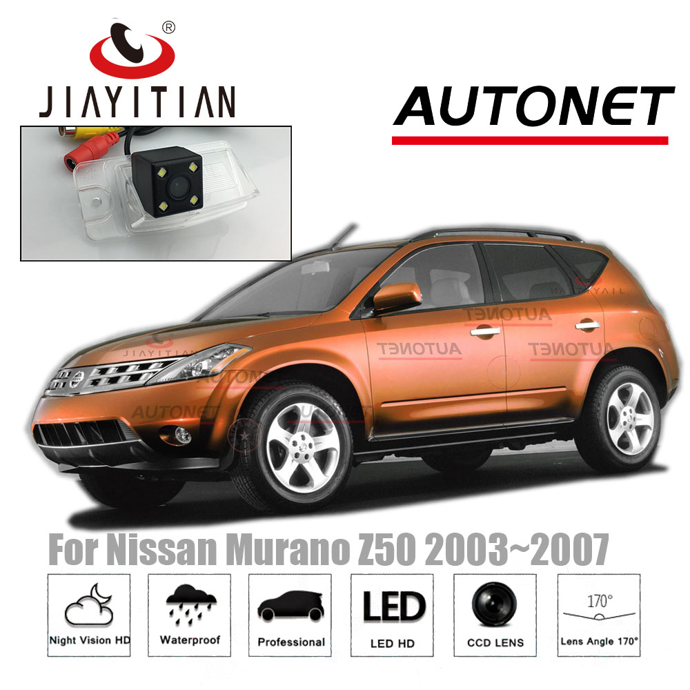 JIAYITIAN rear camera For Nissan Murano Z50 MK1 2003~2007 CCD Night Vision Backup camera license plate camera Parking camera