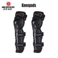 Scoyco Motorcycle Protective Kneepad High Quality CE Knee Protector Moto Racing Guards Motocross Black Red Motocicleta
