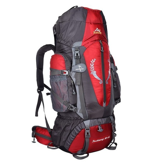Hot  Large 85L Outdoor Backpack Unisex Travel Multi-purpose climbing backpacks Hiking big capacity Rucksacks camping bag 2