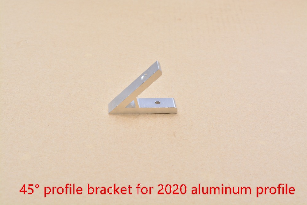Adapting Piece 45 Degree Inscribed Corner Bracket Angle Connection For 2020 Aluminum Profile 1pcs
