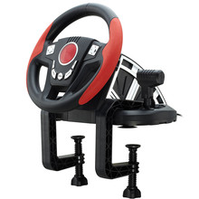 Shock simulation automobile race Need for Speed pc usb Analog learn to drive computer game steering wheel With pedal games