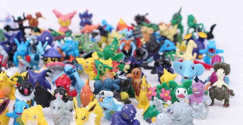 24pcs Mini Pokemon Figures 10