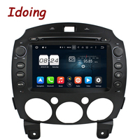 Idoing 2Din8 Android 6 0 Car DVD MP3 Player For MAZDA 2 2010 2012 Navigation GPS