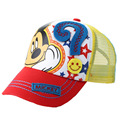 spring summer Children mesh hat new boys and girls cartoon casual baseball cap lovely expression mark printed sun hat wholesale
