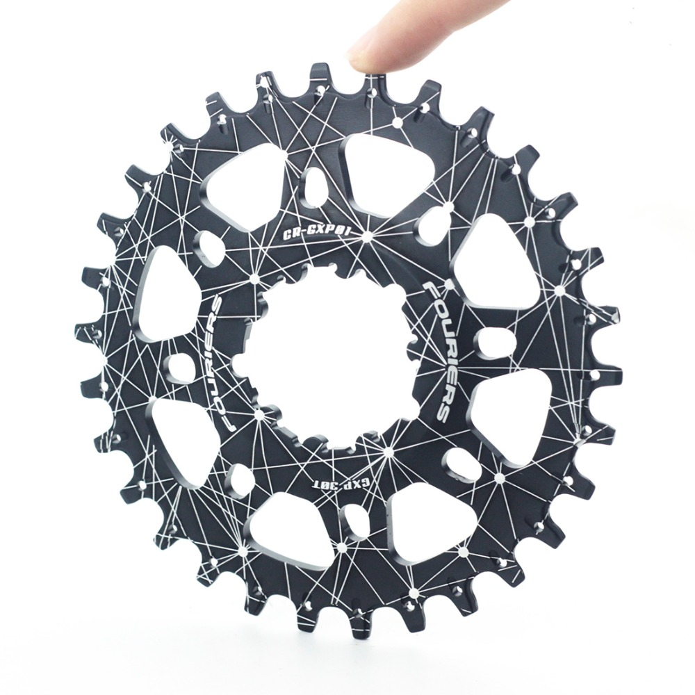 Fouriers Cycling Chainring CNC Made Mountain Bike MTB Chain Ring 30T- 38T For SRAM XX1 XO X9 GXP Crank System sram xx1 x9 xo gxp bb30
