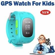 HQ Perdida Anti GPS Tracker Reloj Para Niños SOS de Emergencia GSM Teléfono Móvil inteligente App Para IOS y Android Smartwatch Pulsera de Alarma