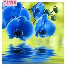 H564 Diamond Embroidery flower,diamond painting full square,diy,5d diamond embroidery orchid flower