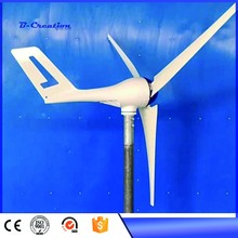 Magnetic power generator 3 Blades 400W DC12/24V Wind Turbine Generator With Waterproof Charge Controller Wind Generator Kits