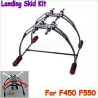 Bán buôn 1 cái FPV Chống Rung Đa Chức Năng Landing Skid Kit F450 F550 Quad Hexa copter Dropship