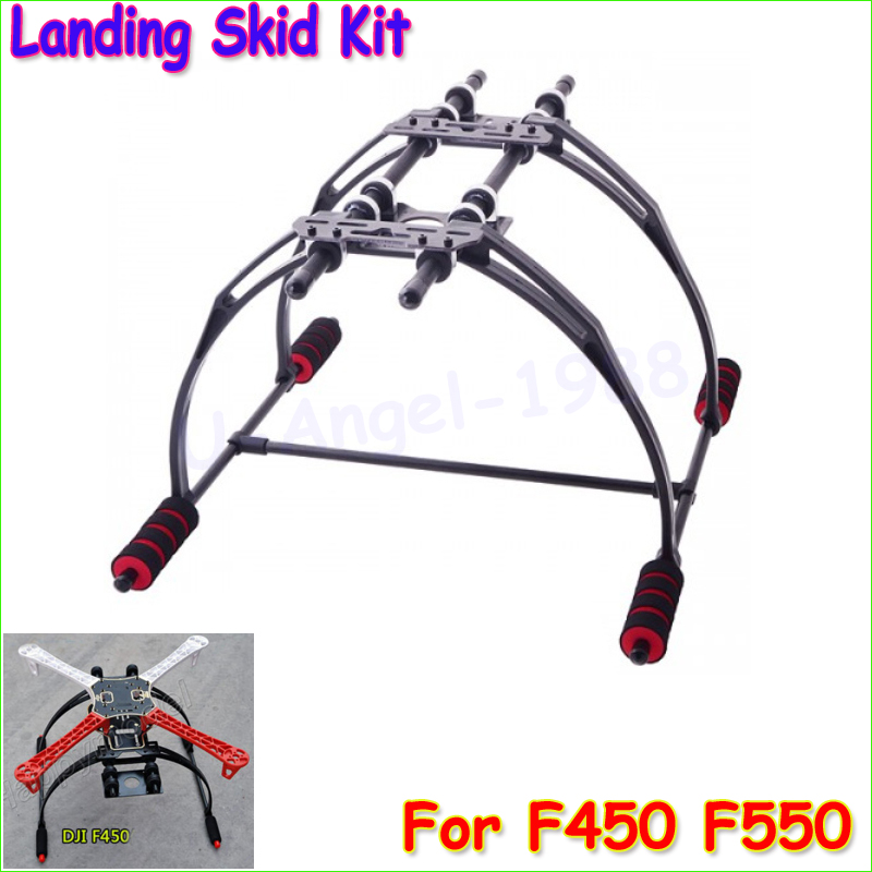 Wholesale 1pcs FPV Anti Vibration Multifunction Landing Skid Kit F450 F550 Quad Hexa copter Dropship