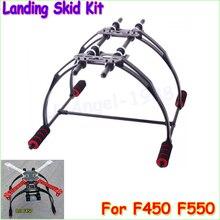 En gros 1 pcs FPV Anti Vibration Multifonction Landing Skid Kit F450 F550 Quad Hexa copter Dropship
