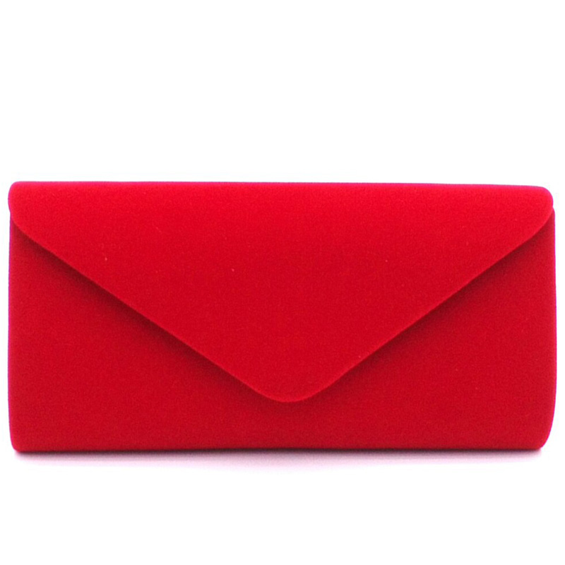 Luxury High Quality Suede Female solid Women evening bags hot selling girl wedding party handbag noble trend chain shoulder bag luxury crystal clutch handbag women evening bag wedding party purses banquet