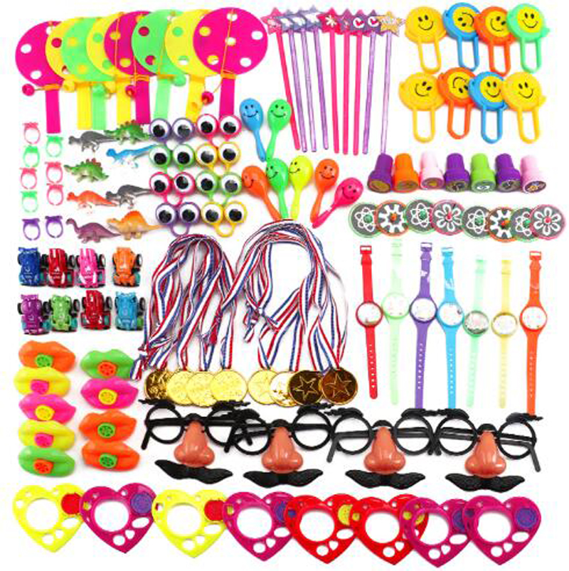 Brand New 120pc Kids DAILY Toys Assortment Toy Boy Girl Party Bag Pinata Filler Party Favor